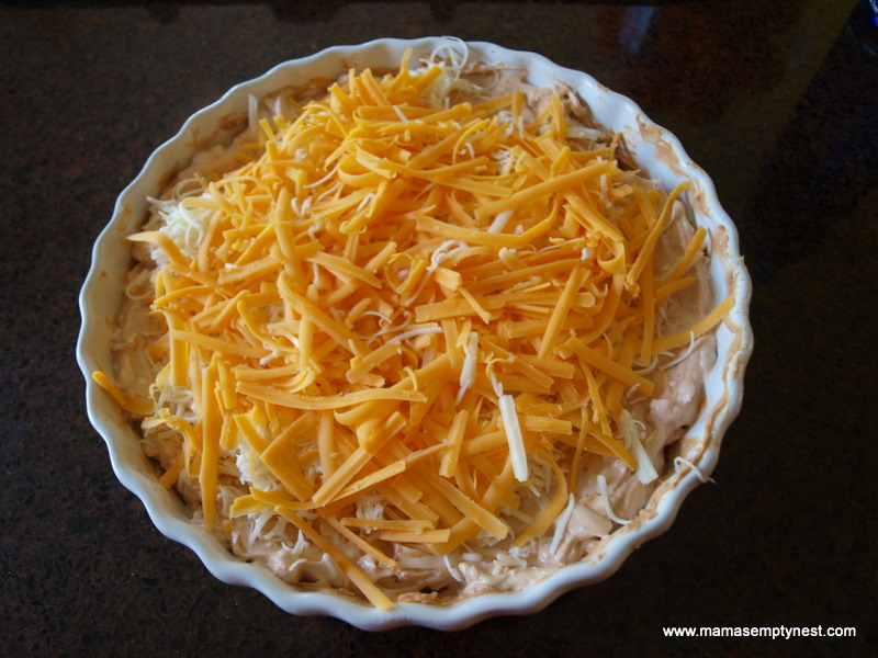 What's Cookin' – Hot Cheesy Bean Dip | Mama's Empty Nest